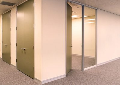Gypsum Partition and Store Shelves